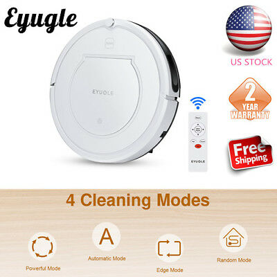 Eyugle Robotic Vacuum Cleaner 900Pa HEPA Filter Self-Charging Powerful Suction