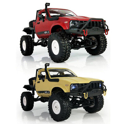 WPL 2.4G 4WD RC Pickup Truck 1:16 Off Road Crawler Remote Control RTR Car Toy