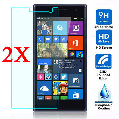 2X Tempered Glass Screen Protector Guard For Nokia Lumia 640 650 950 XL 1520