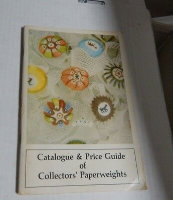Catalogue & Price Guide Of Collectors Paperweights - 1978