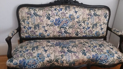 Antique Napoleon III Sofa from France