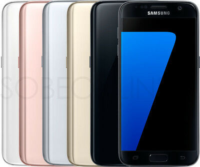 """Samsung Galaxy S7 G930t 32GB 4GB Ram (Libre) 5.1"""" 12mp Android Gsm"""