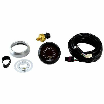 AEM Electronics 52mm Digital LED Display Oil Pressure Gauge - 0-150 PSI
