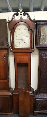 Antique Oak & Mahogany Longcase Grandfather Clock