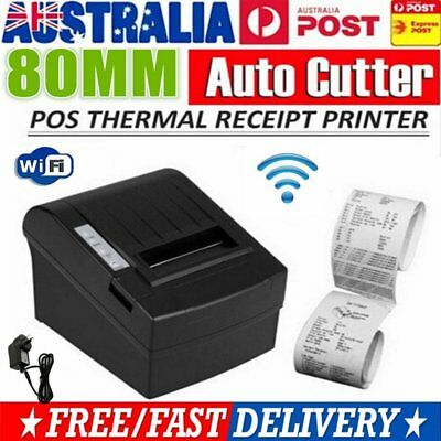Wireless WIFI POS Thermal Receipt Printer 80mm Auto Cutter 300mm/s POS-8220 ZJ