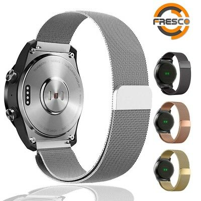 Stainless Steel Adjustable Loop watch band strap for Ticwatch E Express
