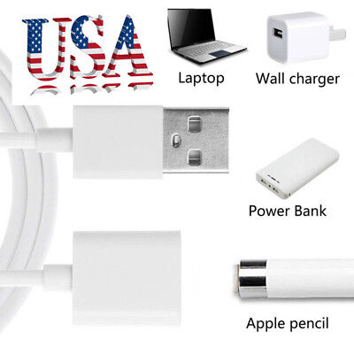 USB Charging Cable For Apple pro Pencil Charger Adapter Power Supply Cables USA