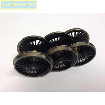 X8294 Hornby Spare CL90 NON-POWER BOGIE WHEEL//AXLE SET