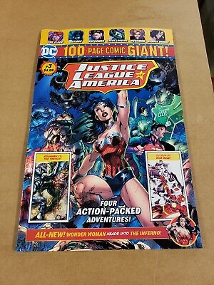 DC Comics 100 Page Giant Walmart EXCLUSIVE Justice League America #3 SOLD OUT!