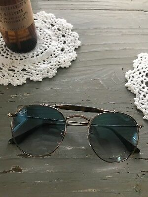 7841d30aa9 Ray Ban RB3747 90353F Bronze Copper Frame Blue Gradient 50mm Lens Sunglasses