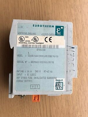 Relay - Solid State - Eurotherm TE10S/16A/240V