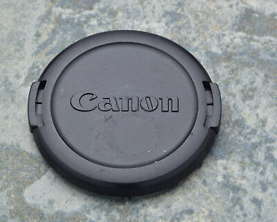 Genuine Canon EOS E 52mm Snap-On Front Lens Cap 50mm 1.8 (#1442)