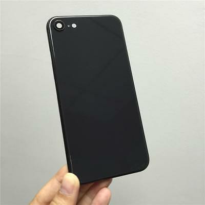 Black Metal Middle Frame Back Glass Battery Cover Housing for Iphone 8