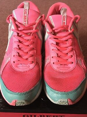 Womens Gilbert Spectra V1 Netball Trainers UK Size 5.5 *used - Fab Condition