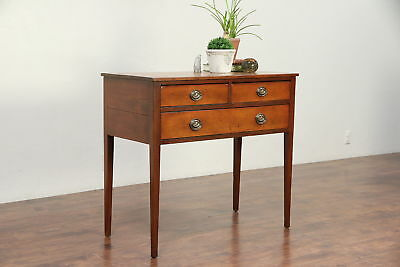 Country Hepplewhite Antique 1790 Sideboard, Server or Hall Console #29515