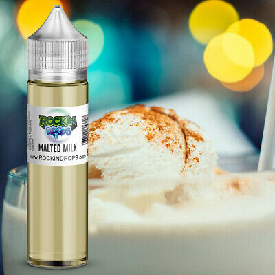 ROCKINDROPS Malted Milk Food Flavor Flavoring Concentrate TFA 10ml 30ml 50ml