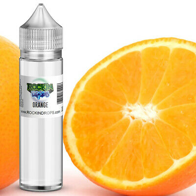 ROCKINDROPS Orange Food Flavor Flavoring Concentrate TFA 10ml 30ml 50ml