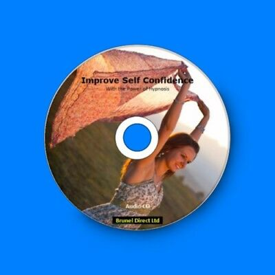 Learn How to Be Confident, Improve Self Confidence with the Power of Hypnosis CD