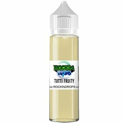 ROCKINDROPS Tutti Fruity Food Flavor Flavoring Concentrate TFA 10ml 30ml 50ml
