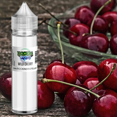 ROCKINDROPS Wild Cherry Food Flavor Flavoring Concentrate TFA 10ml 30ml 50ml