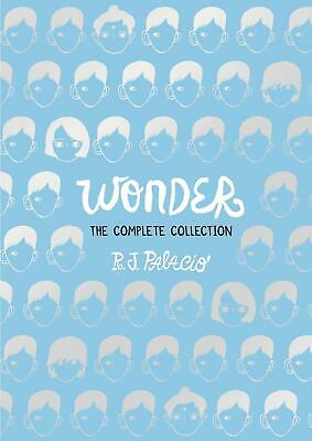 Wonder: The Complete Collection by R.J. Palacio Hardcover Book Free Shipping!