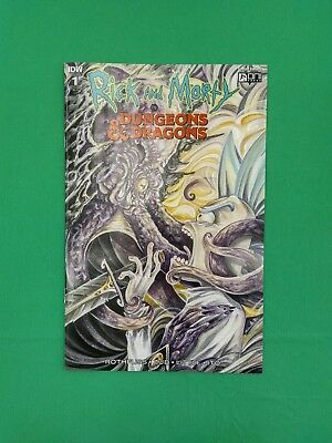 Rick and Morty vs Dungeons & Dragons #1 1:10 Incentive RI Variant IDW Oni Press