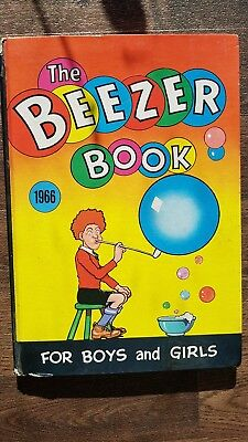 The Beezer Book Annual 1966 - Not price clipped