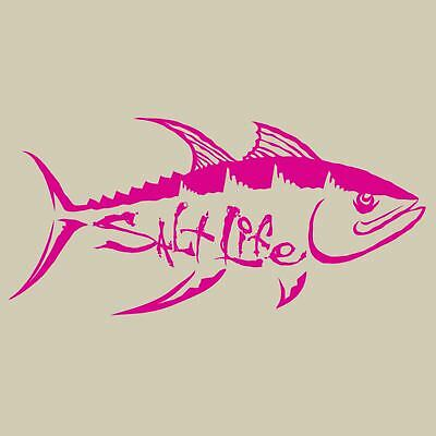 Salt Life Tuna Hunt Decal Pink