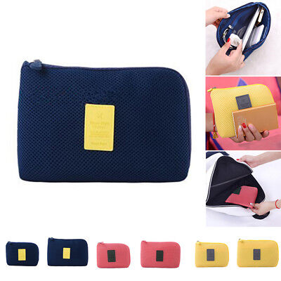 Cable Pouch Organizer Bag Digital Case Travel Storage Phone Outdoor Shakeproof