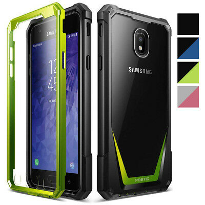 Samsung Galaxy J3 2018 / J3 Star Poetic Guardian Heavy Duty Rugged Case 4 Colors