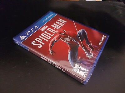Marvel's Spider-Man [PS4] [PlayStation 4] [2018] [Brand New Factory Sealed!]