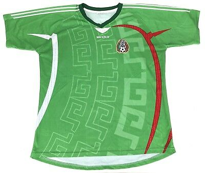 b0a42d8e856 Mexico National Team Soccer Jersey Vintage Futbol - Size Unknown Green