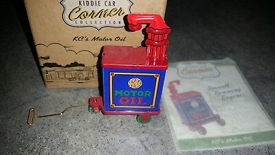 Hallmark Kiddie Car Corner Collection KC's Motor Oil Free U.S Shipping