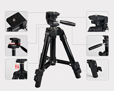 Universal Portable Sports Aluminum Tripod Stand For Canon Nikon Camera Camcorder