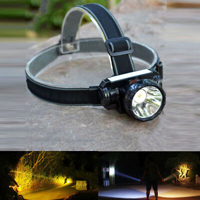 Super Bright LED Headlamp Rechargeable Head Light Torch for Fishing Hunting US