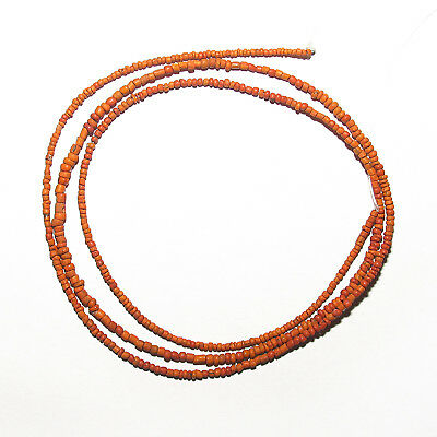 1 strand ancient indo-pacific tradewinds tiny glass beads #25b