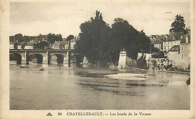 86 Chatellerault Les Bords De La Vienne