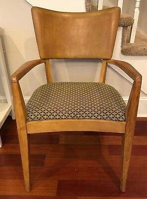Heywood-Wakefield Vintage Sting Ray DIning Chair with Arms Arm Chair Dining MCM