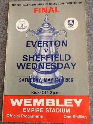 Everton v Sheffield Wednesday - 1966 FA Cup Final 14May66