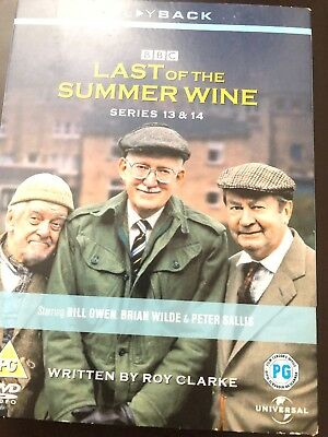 Last Of The Summer Wine - Series 13-14 - Complete (DVD, 2008, 3-Disc Set, Box...