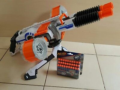 Nerf N-Strike Elite Rhino Fire Automatic Machine Gun + Tripod,Darts