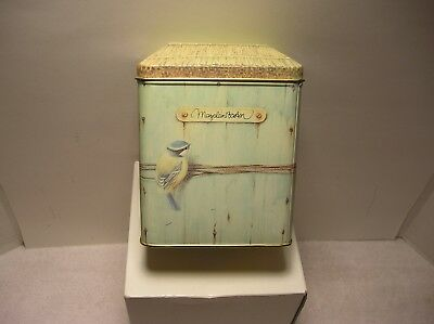 Hallmark  1995 Marjolein Bastin Birdhouse Note Card Tin Only - No Cards