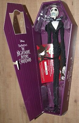 HOT TOPIC The Nightmare Before Christmas Limited Edition Jack Skellington Doll
