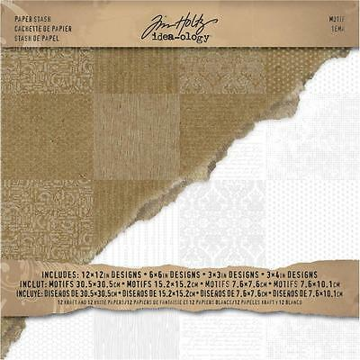 TH - IdeaOlogy - 12in.x12in. Resist Paper Pad - Motif