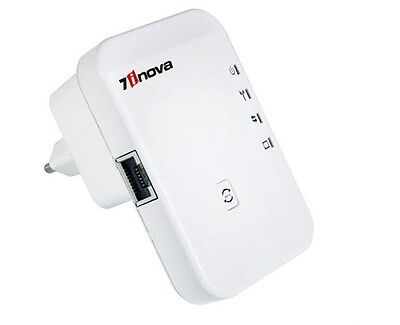 High Quality 300 Mbps Wireless-N 802.11 AP Wifi Router Repeater with WPS+UK Plug
