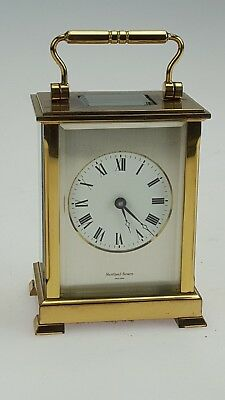 Lovely Shortland Bowen Carriage Clock Lady Diana Spencer Engraved Commemorative