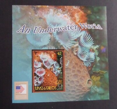 Turks & Caicos 2006 Underwater photography fish MS1841 MS  MNH UM unmounted mint