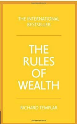 Rules of Wealth by Richard Templar New Paperback / softback Book