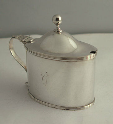 Fine Georgian Solid Silver Mustard - London 1796