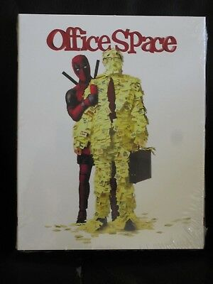Office Space Deadpool Photobomb Blu-Ray Slip Cover Walmart Exclusive New